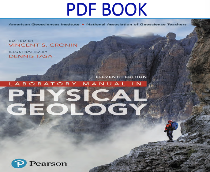 Laboratory Manual In Physical Geology 11th Edition Pdf Book By Agi Nagt Vincent Cronin Dennis G Geology Physics Textbook
