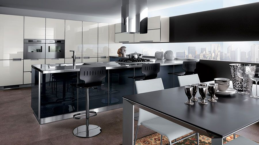 Cucine Scavolini Moderne Modello Crystal | Cucina, Crystals and Spaces