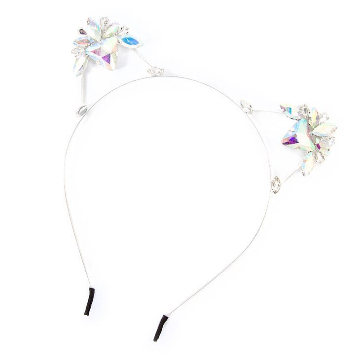 00a110ac4b9c claire's cat ears - Google Search | Headpeice | Cat ears headband ...