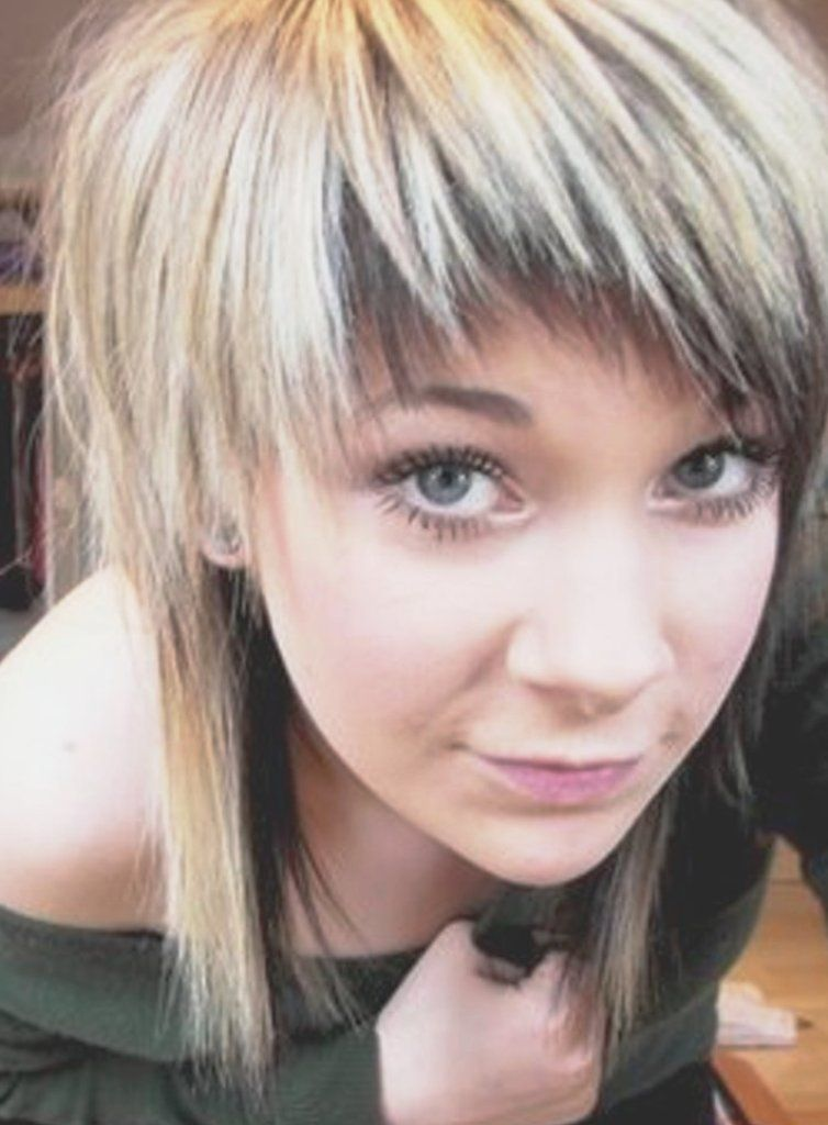 Enjoyable 1000 Images About Hurr On Pinterest Scene Hairstyles Two Tones Short Hairstyles Gunalazisus