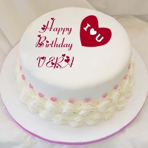 Create I Love U Birthday Cake Image With Name Wishes Profile Pics