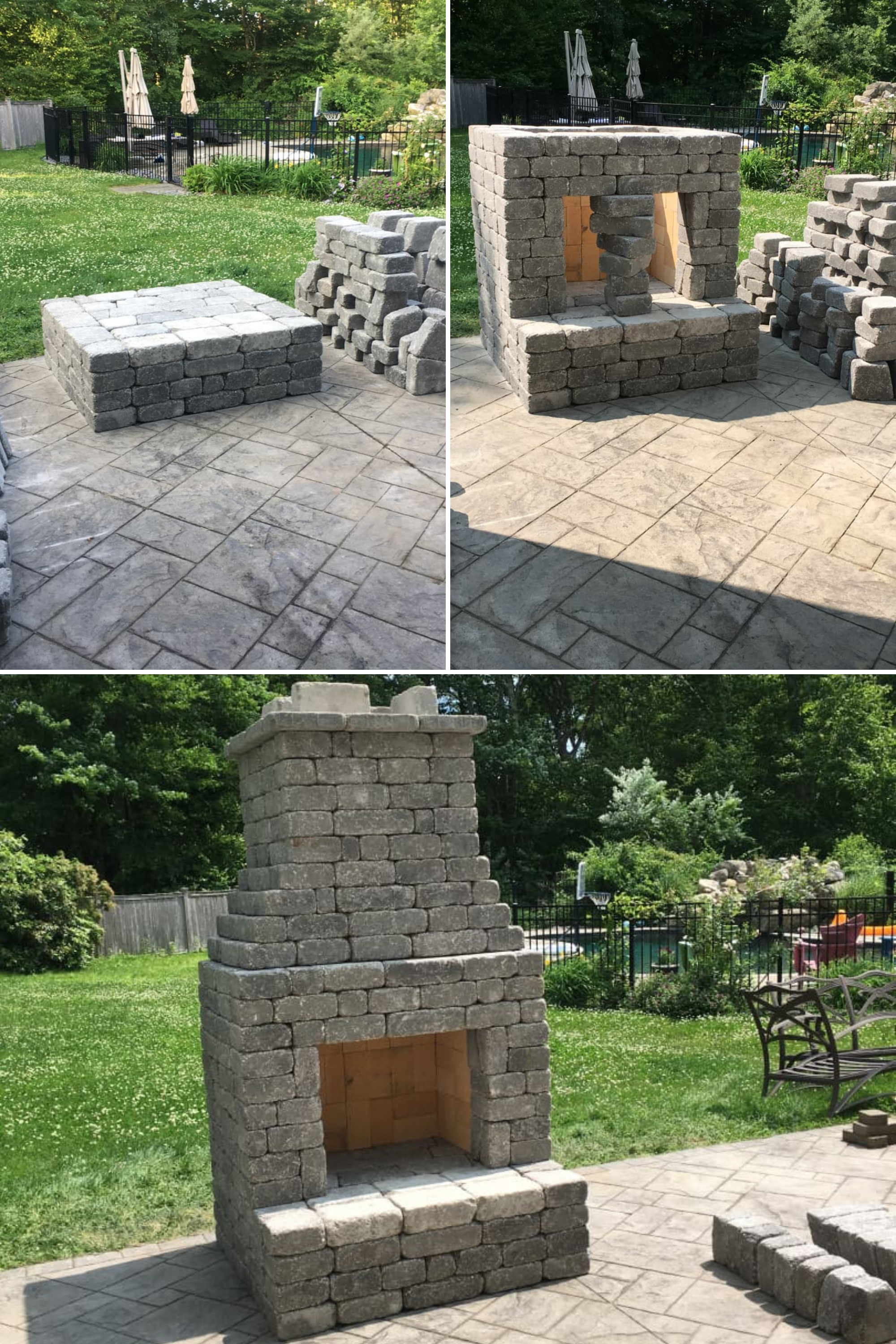 People Love Building This Outdoor Fireplace