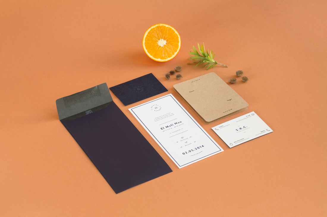 Wedding Invitation For Daniel Sandra By Paula M Montoto Is A Graphic Designer From Madrid But Curly Living And Working In Valencia