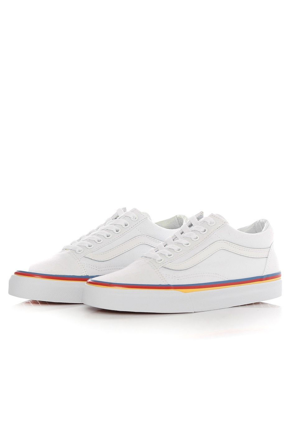 vans old skool rainbow