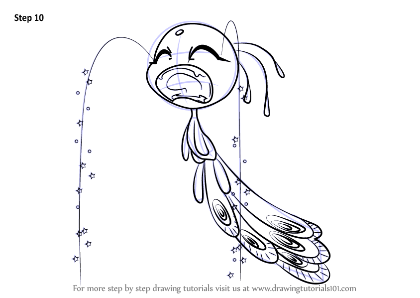 Learn How To Draw Peacock Kwami From Miraculous Ladybug Miraculous Ladybug Step By Step Dra In 2020 Ladybug Coloring Page Cartoon Coloring Pages Miraculous Ladybug