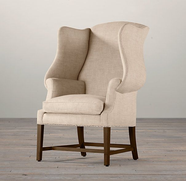 MUST HAVE THIS CHAIR - I sat in it and I'm obsessed. What color?? 1920S Georgian Wingback Chair