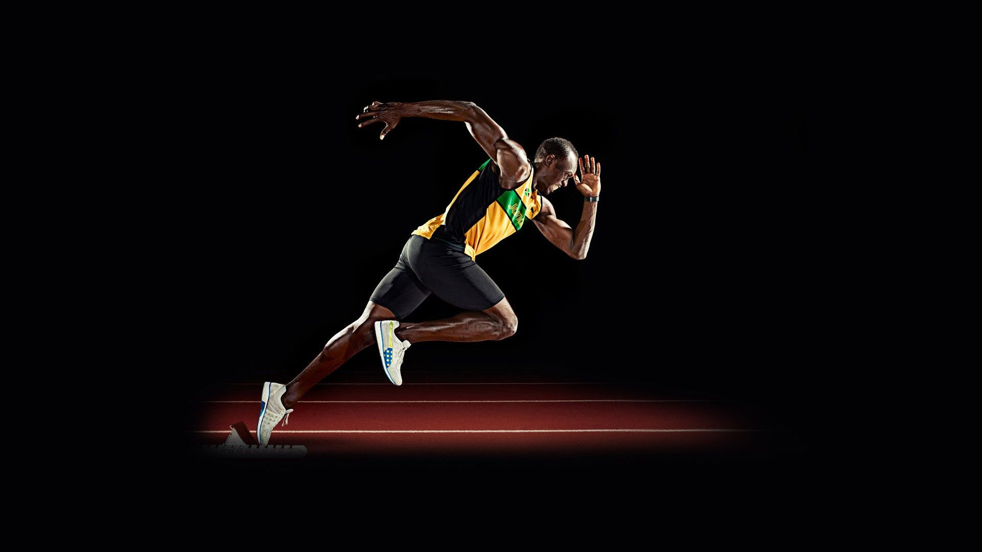 Usain Bolt, Running Pose