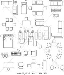 Furniture Drawing Plan Room Pictures