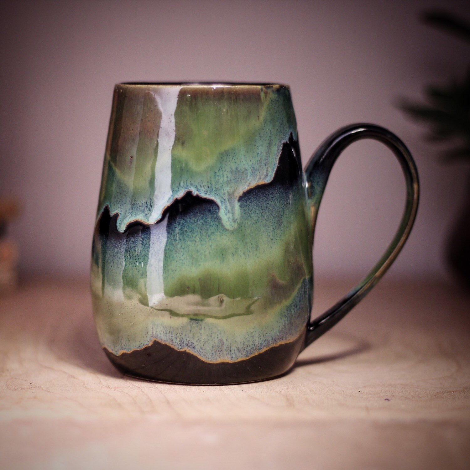 Northern Lights. #ceramicmugs