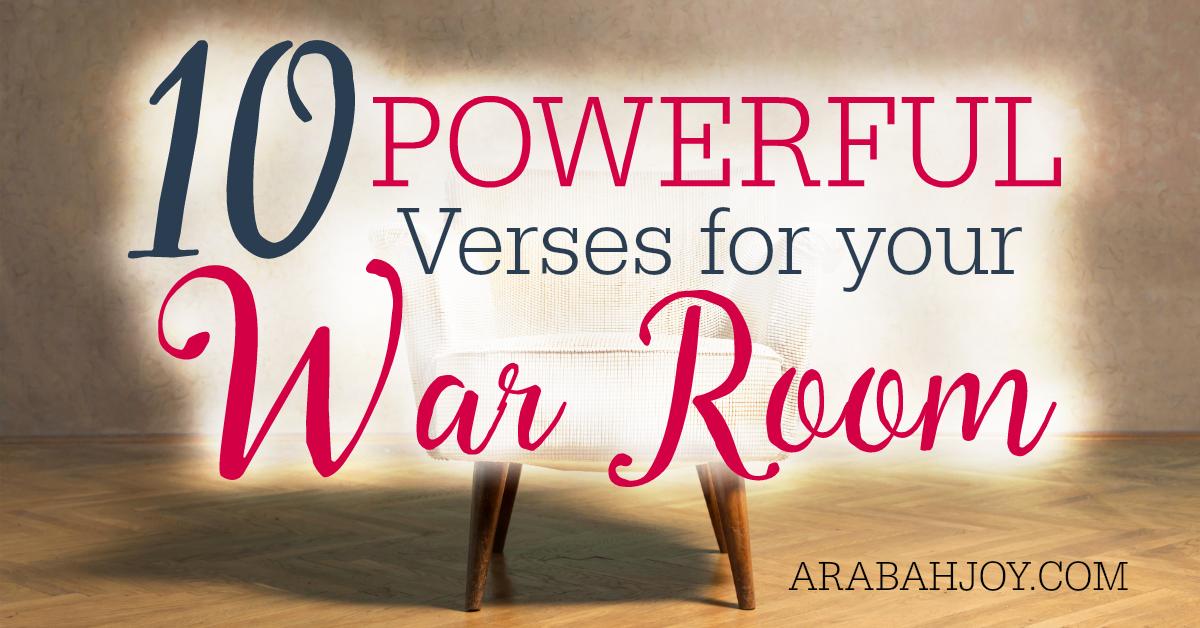 10 Powerful Scriptures For War Room Prayers Free Printable War Room Prayer Powerful Scriptures Prayer Strategies