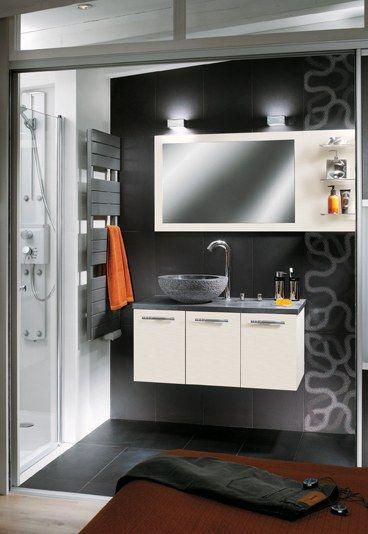 Mobalpa salle de bain  Aménager une petite salle de bain avec