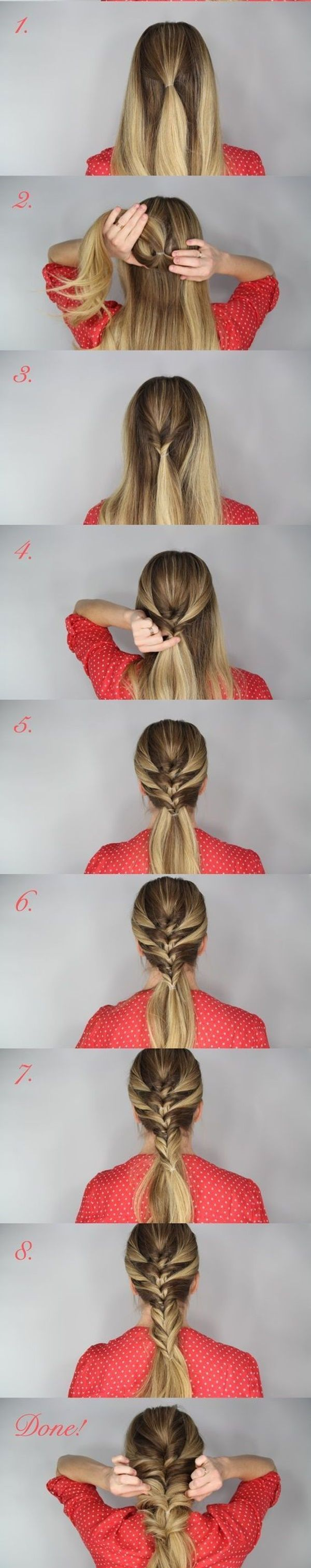 easy step by step hairstyles for girls hair style hair dos and