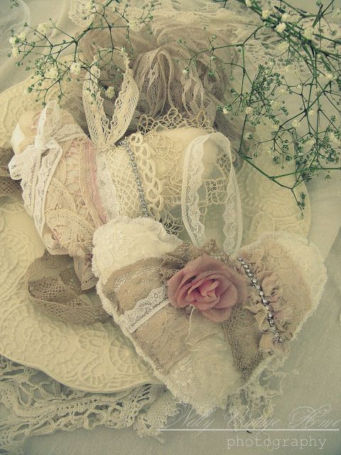 Victorian sachets or ornaments.../
