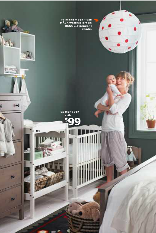 25 Cool Decorating Tricks from IKEA \'14 Catalog | Catalog, Nursery ...