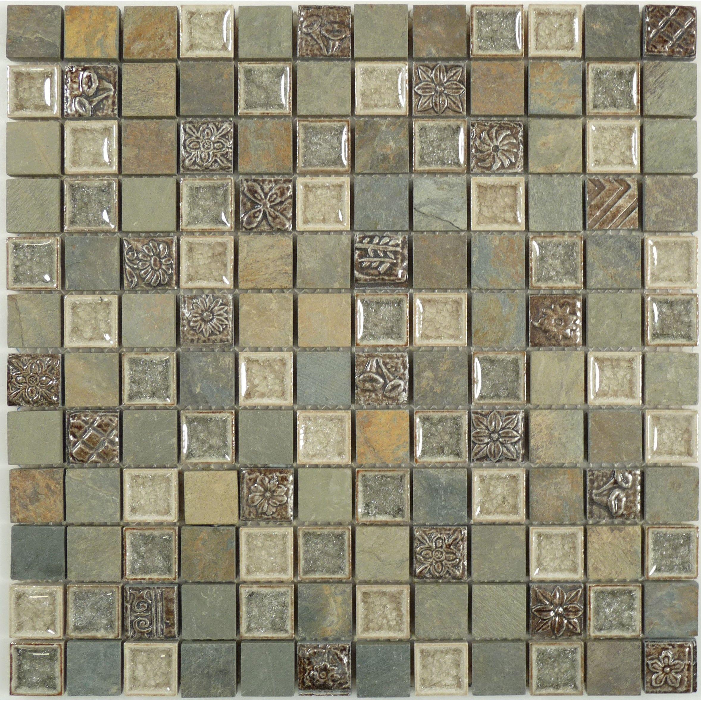 Methodical grey ts906 1x1 glass stone tumbled tile brand euro methodical grey ts906 1x1 glass stone tumbled tile brand euro glass for basement bath accent dailygadgetfo Choice Image