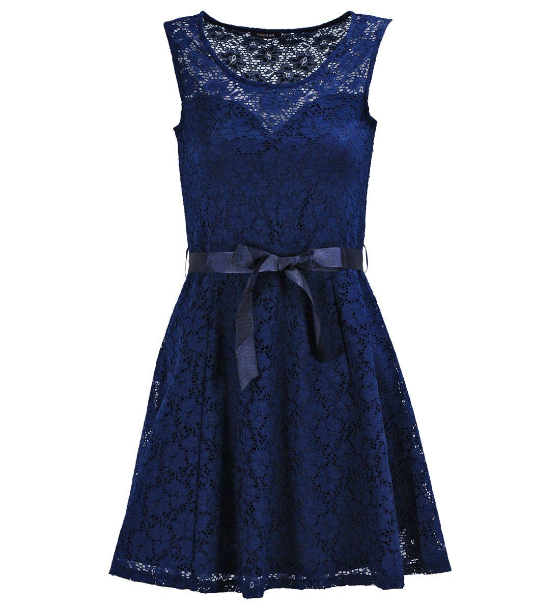 Robe bleu marine morgan