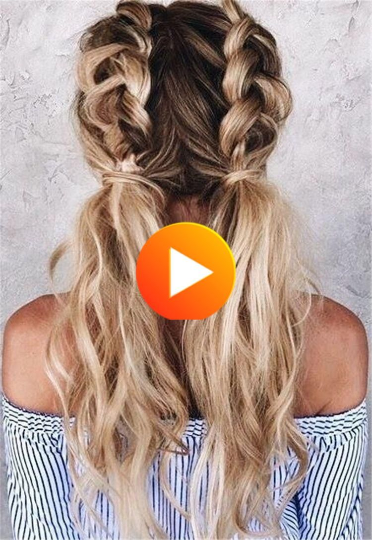 Cute Hairstyles Back To School Box In 2020 Hairstyles For School Long Hair Styles Hair Styles