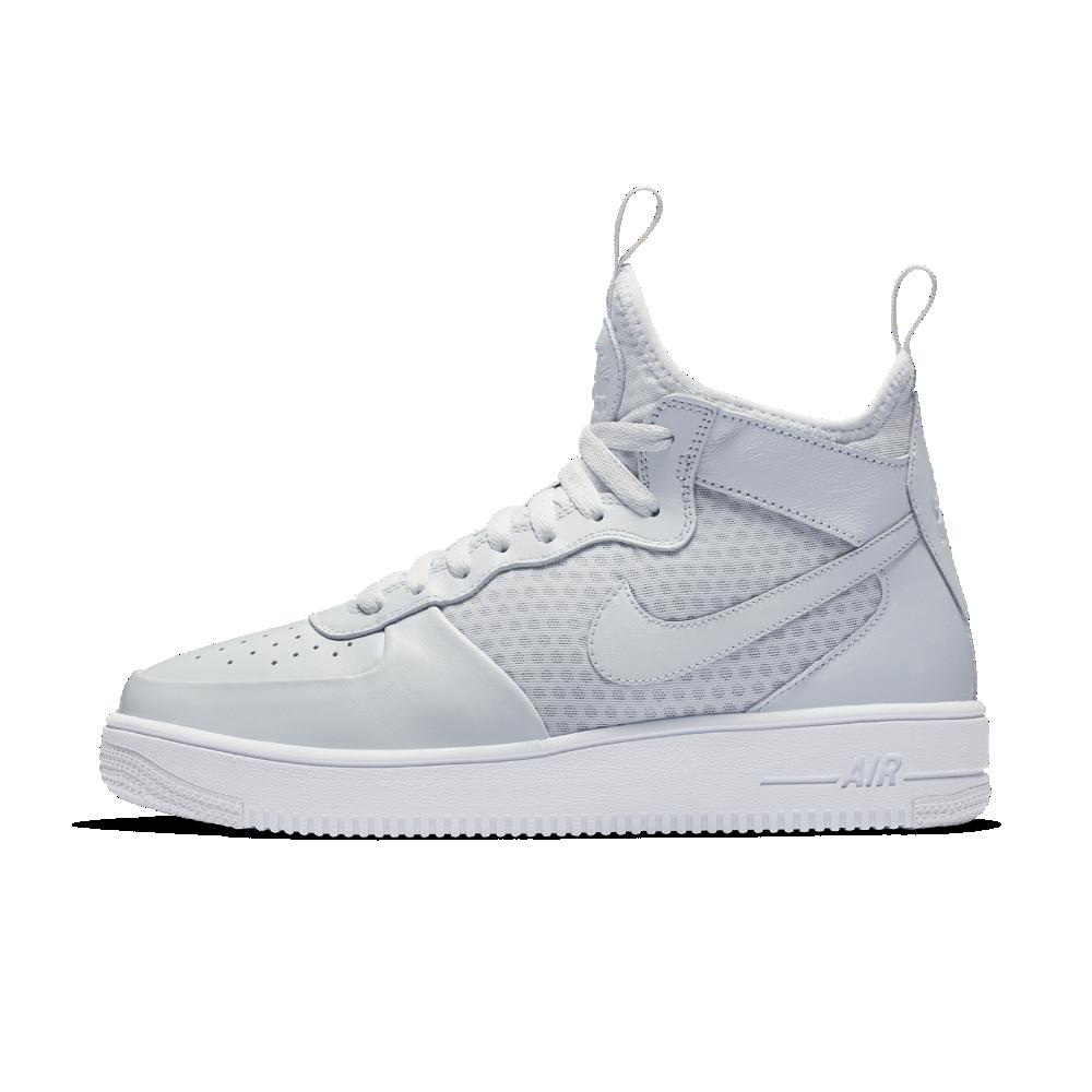 Nike Air Force 1 UltraForce Mid Men's Shoe Size 10.5 (Silver
