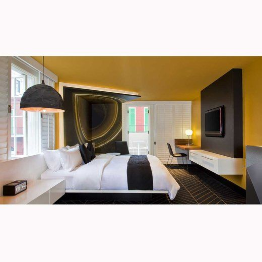 These Chic NOLA Hotels Are Reasonable And Budget Friendly Which Means More Money For The New Orleans French QuarterW HotelHotel InteriorsDesign