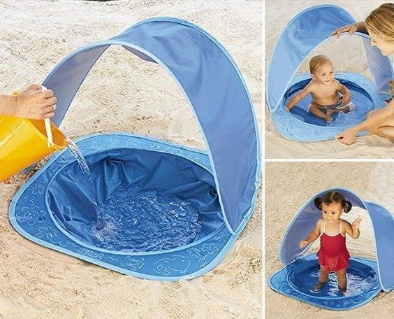 Piscinas De Playa O Campo Para Bebés Bebeazul Top Cool Baby Stuff Baby Life Hacks Baby Pool