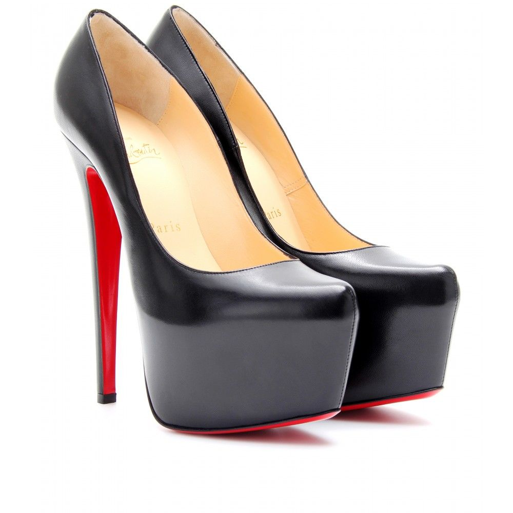 brand new f8725 144c4 mytheresa.com - Christian Louboutin - DAFFODILE 150 LEATHER ...