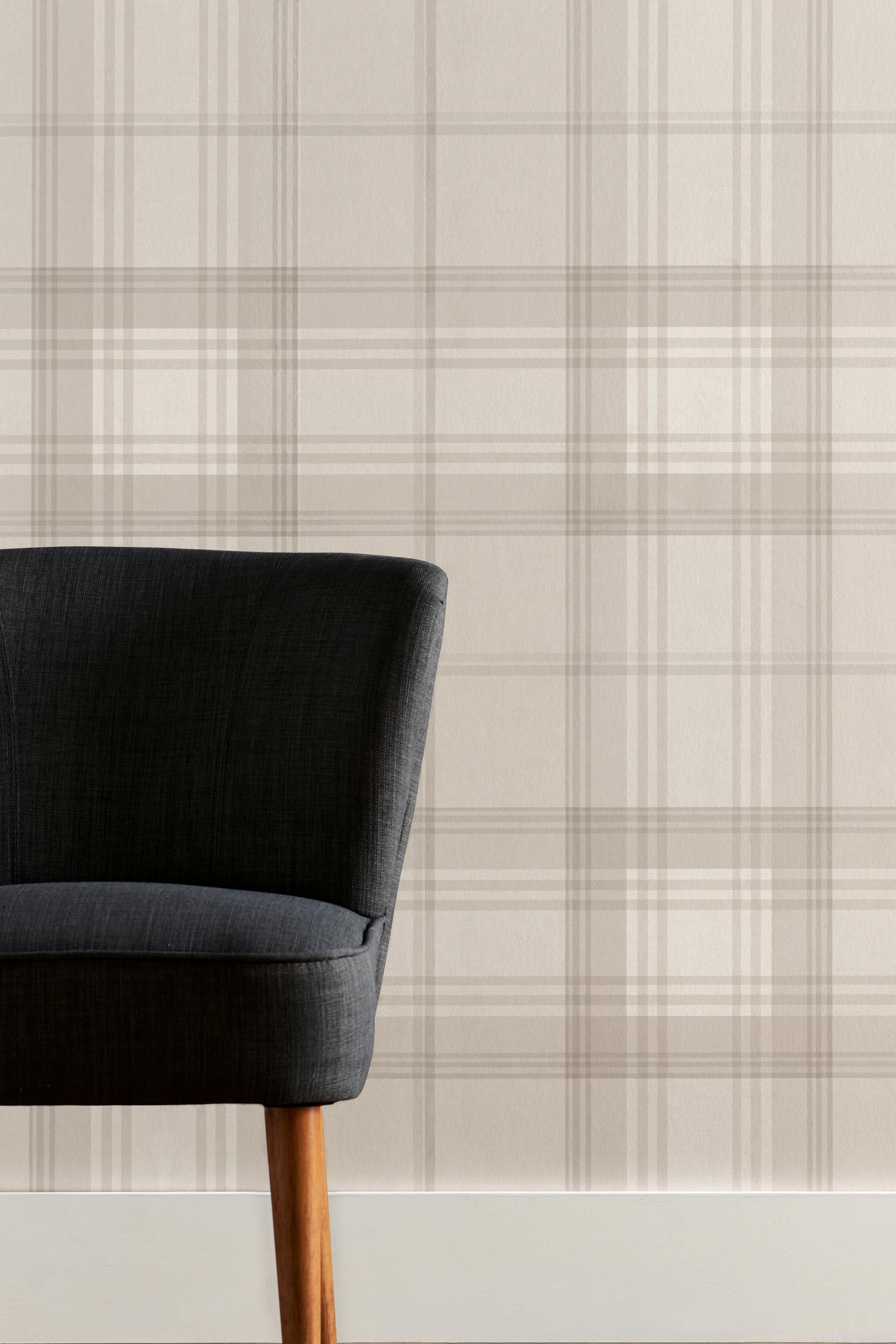 Buy Check Wallpaper From The Next Uk Online Shop Wallp