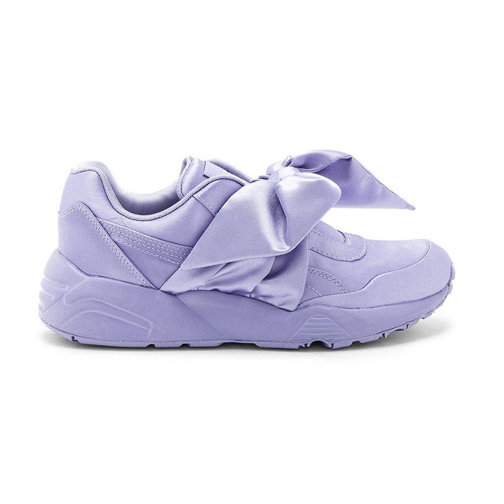 e494272df68a78 Fenty Puma by Rihanna Trinomic Bow Sneaker Lavender