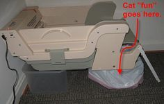 How To Hack The Littermaid Litter Box For Even Less Scooping Litter Box Litter Maid Box Hacks