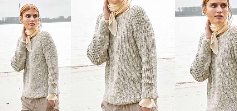Photo of Der wunderschöne und kuschelige Raglan-Pullover ist das Herzstück eines Herbst…