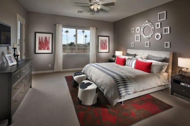 20 Beautiful Gray Master Bedroom Design Ideas Grey Bedroom Design Gray Master Bedroom Luxurious Bedrooms