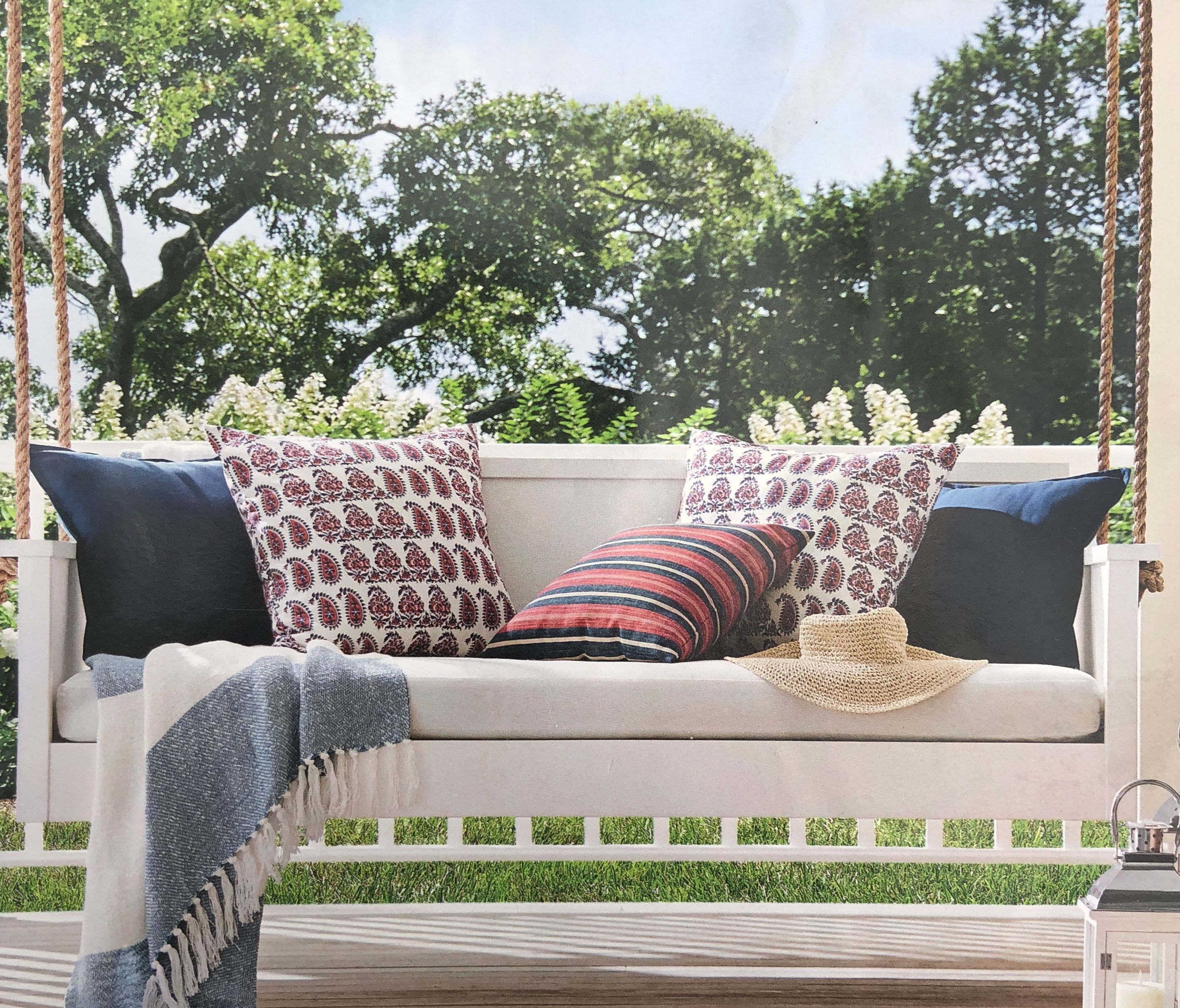 Pottery Barn Porch Swing: The Perfect Daybed Setup Inspo Via Pottery Barn