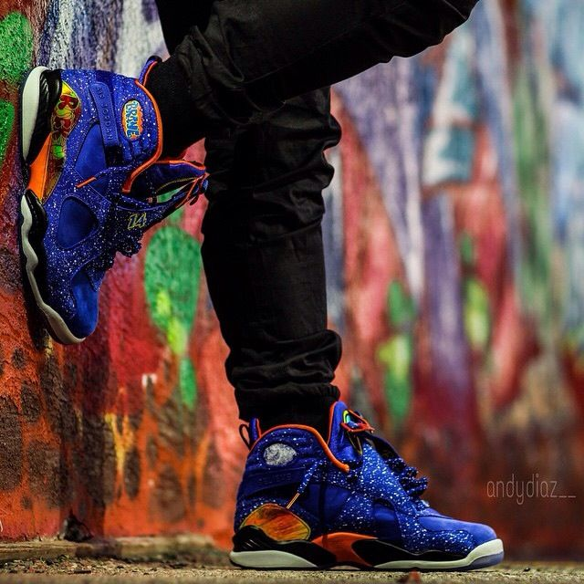 hot sale online 3741a 2607e AIR JORDAN 8 RETRO DB DOERNBECHER HYPER BLUE ELECTRO ORANGE ...