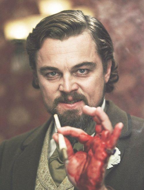 Leonardo DiCaprio in Quentin Tarantino's,Django Unchained