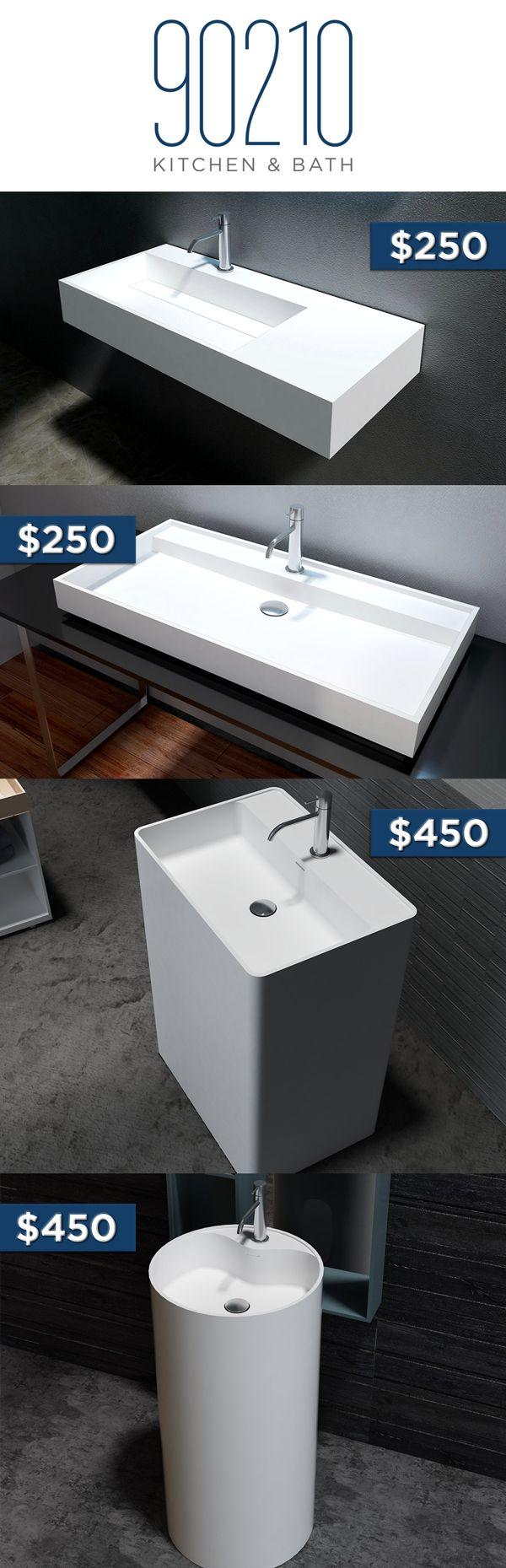 Bathroom Renovation Under $500 4 vessel sink ideas under $500 ! | bathroom renovation ideas