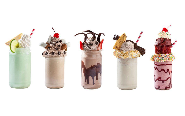 Toothsome Chocolate Emporium milkshakes