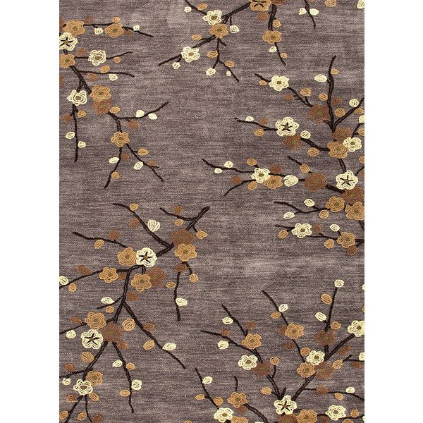 Cherry Blossom Area Rug Part - 28: Brio Collection Cherry Blossom Rug In Steel Design By Jaipur (80 CAD) ?  Liked
