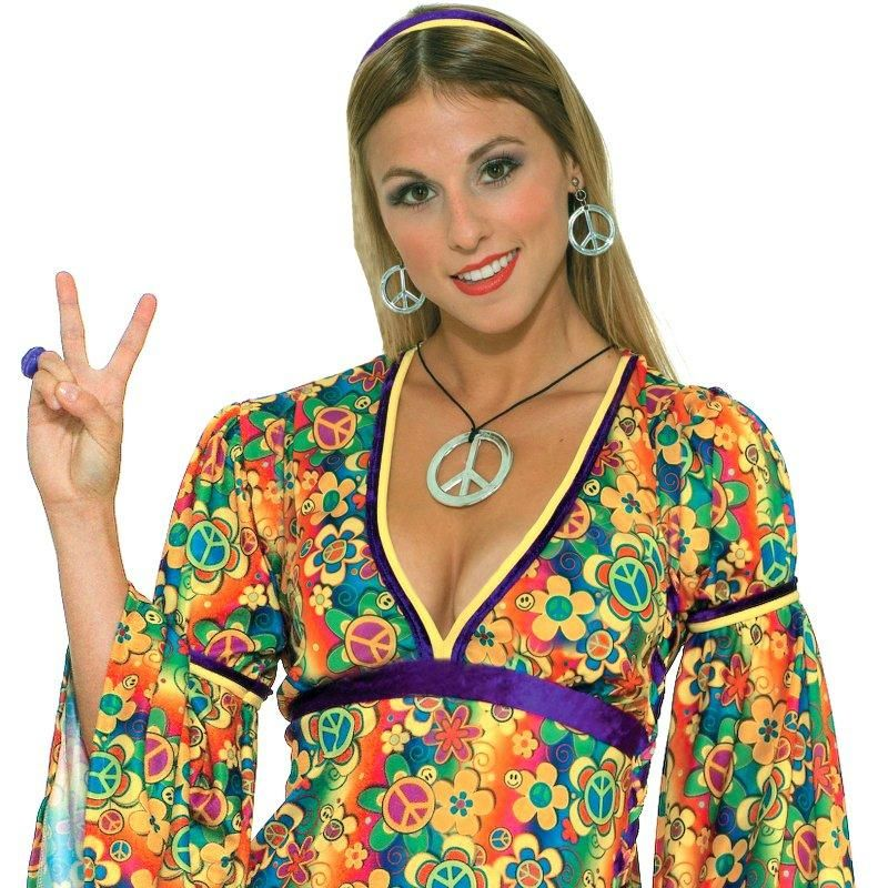 Peace jewelry accessories for your hippie outfit