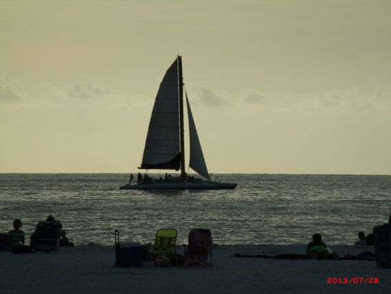 Sailboat Photo by CreationsByMe2013 on Etsy, $16.00