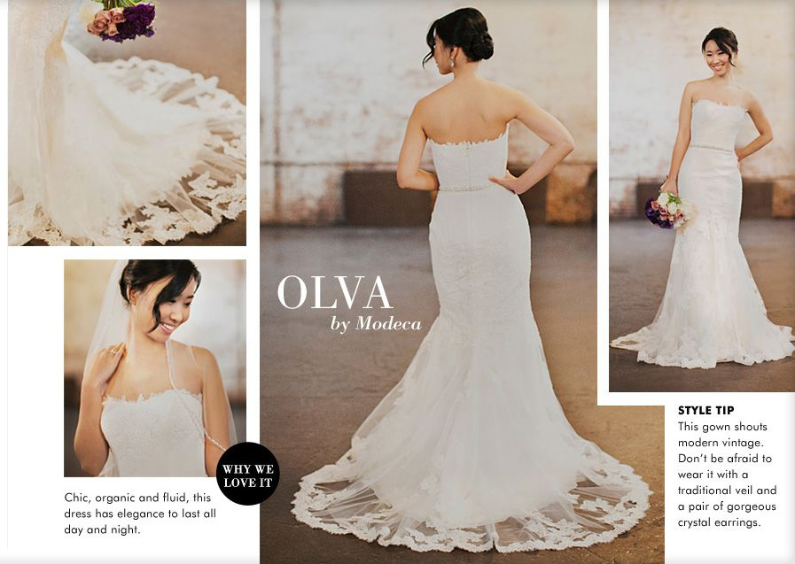 Cheap Wedding Dresses Brooklyn Ny: Olva Dress By Modeca