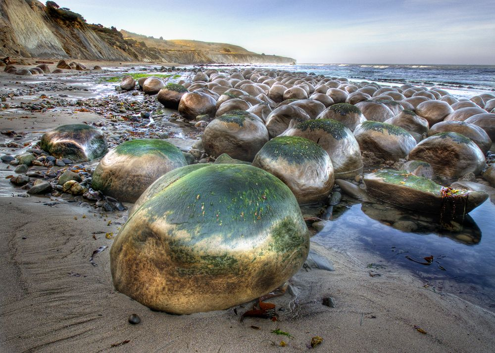 Bowling Ball Beach In Mendocino County Did This August 2012