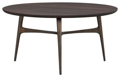 Bel-Air Round Coffee Table - modern - coffee tables - Crate