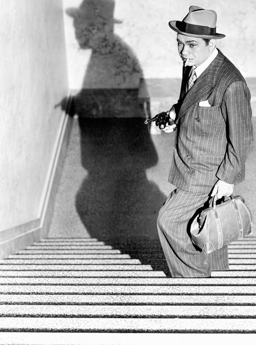Edward G Robinson, 1937, publicity shot for The Last Gangster. S)