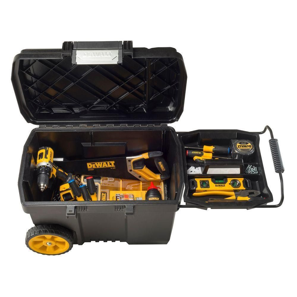 Superior New DeWalt Portable Rolling Toolbox Tools Chest Cabinet Storage Tool Box  Cart