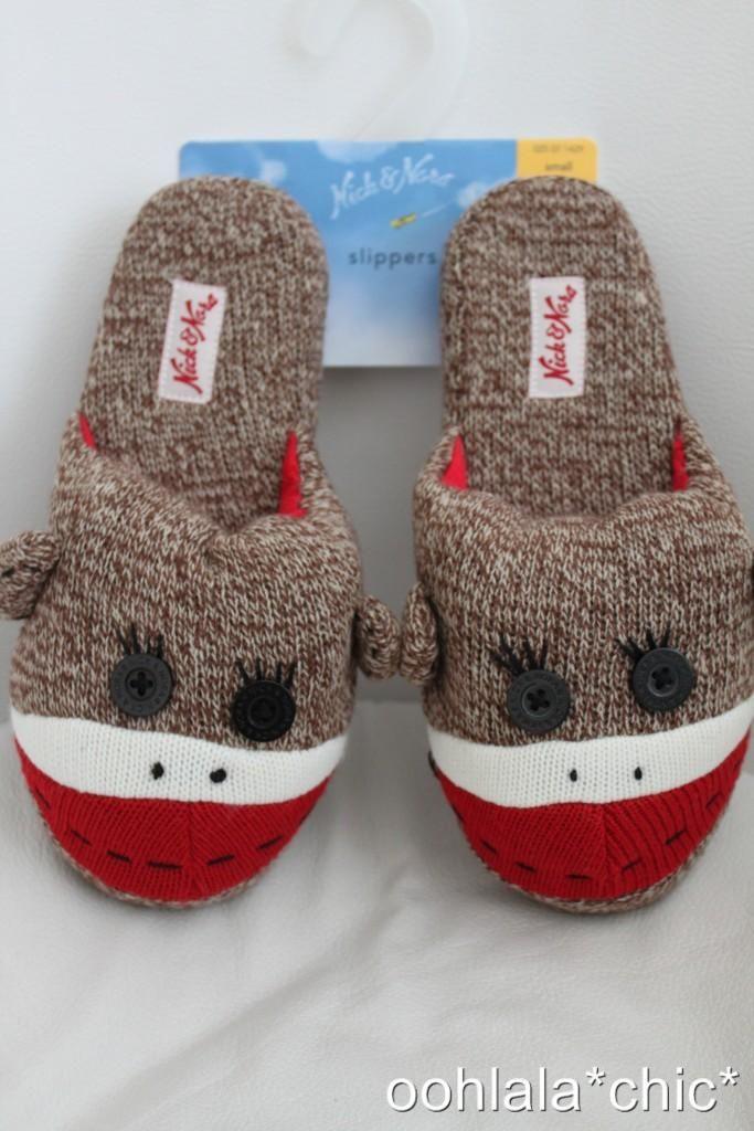 Cute Sock Monkey Slippers Sock Monkies Cute Socks