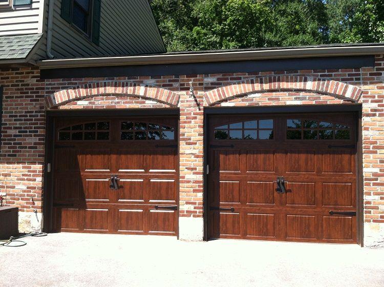 Clopay Ultra Grain Walnut Garage Door Design Timber House