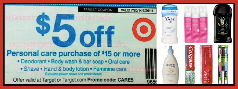 Hip2save Not Your Grandma S Coupon Site Personal Care Target Coupons Care