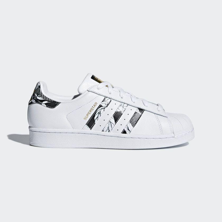 Superstar Shoes Cloud White Core Black Gold Metallic