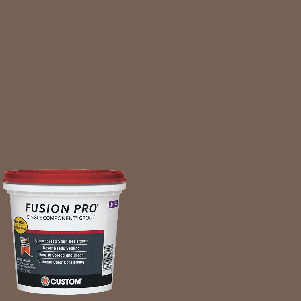 Fusion Pro Custom Building Products Fusion Pro 52 Tobacco Brown 1 Qt Single