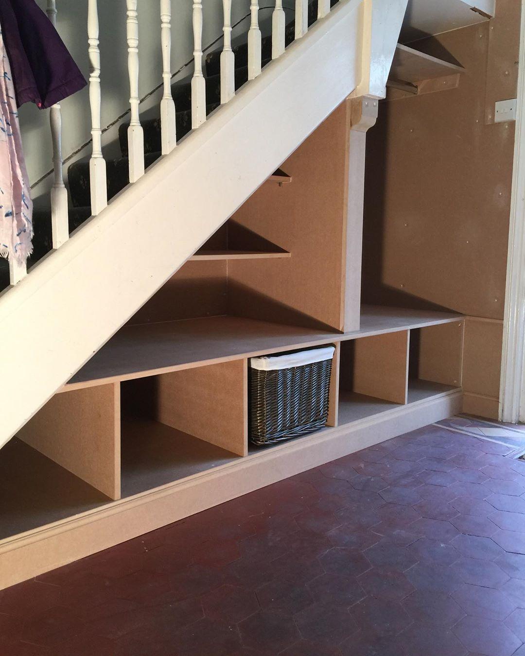 "Bespoke Under Stairs Shelving: Marc Smith Bespoke Kitchens On Instagram: ""Bespoke Built"