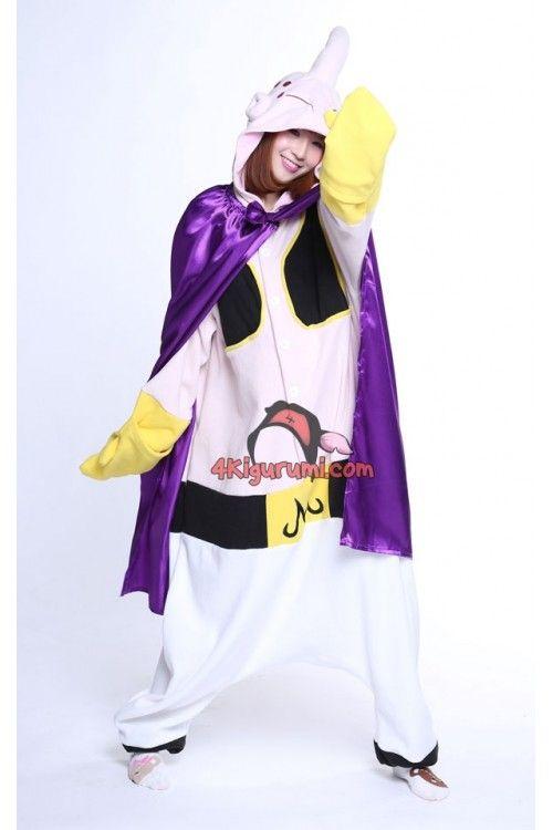 Dragon Ball BOSS Majin Buu Kigurumi Costume  d14f1008e